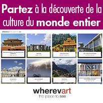 Visites virtuelles et culturelles www.wherevart.com