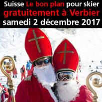 Suisse<br>Verbier<br>Le bon plan<br>pour skier<br>gratuitement