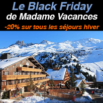Le Black Friday<br>de Madame<br>Vacances