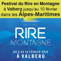 Festival du Rire<br>en Montagne à Valberg<br>dans les Alpes-Maritimes