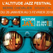 Festival de Jazz<br>Serre Chevalier<br>du 20 janvier au 3 février 2018