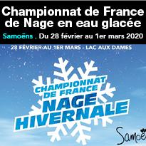 Championnat<br>de France<br>de Nage<br>en eau<br>glacée