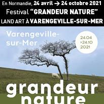 festival de LAND ART au village de Varengeville-sur-Mer