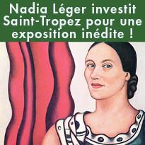 Nadia Léger investit Saint-Tropez pour une exposition inédite