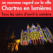 Jusqu'au 7 octobre 2017<br>Chartres en lumières 2017<br>Chartres (28)