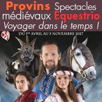 Spectacles équestres<br>Provins (77)<br>Equestrio
