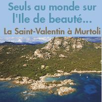 La Saint-Valentin<br>à Murtoli<br>en Corse<br>Du 10 au 12 février 2017