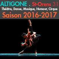 L'Espace Culturel Altigone<br>programmation 2016/2017<br>St-Orens de Gameville (31)