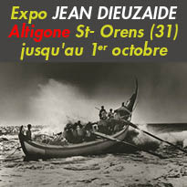 Du 6 septembre au 1er octobre<br>Exposition<br>JEAN DIEUZAIDES<br>Saint-Orens-de-Gameville (31)
