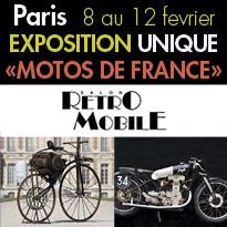 Rétromobile<br>Exposition<br>
