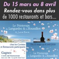 Rendez-vous<br>avec les vins AOC<br>du Languedoc<br>et du Roussillon