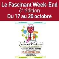 Fascinant<br>Week-End<br>Du 17 au 20 octobre