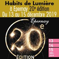 Habits de Lumière<br>à Epernay<br>du 13 au 15 décembre