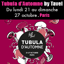 Tubula<br>d'Automne<br>par Tavel<br>Paris