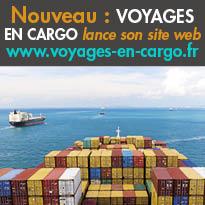 Nouveau<br>VOYAGES EN CARGO<br>lance son site web