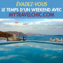 Evadez-vous<br>le temps<br>d'un long week-end<br>Mytravelchic.com