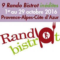 Des Rando Bistrot<br>inédites<br>du 1erau 29 octobre