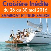 Lancement<br>de la première<br>SamBoat Week<br>du 26 au 30 mai 2016