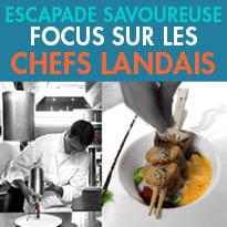 Landes (40)<br>Evasions gourmandes<br>en terre landaise