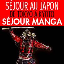 De Tokyo à Kyoto<br>Séjour<br>manga au Japon !