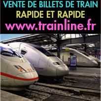 Vente<br>de billets de train<br>Rapide et efficace<br>Trainline