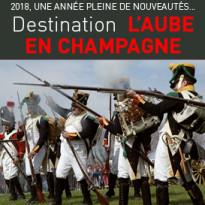 2018<br>Aube en Champagne<br>fait le plein<br>de nouveauté